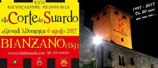 """Rievocazione Storica """"Alla Corte dei Suardo"""" al Centro storico e Castello a Bianzano"""