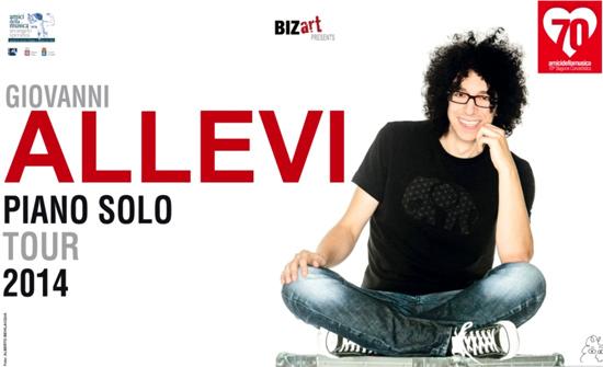 """Giovanni Allevi """"Piano Solo Tour 2014"""" al Teatro Orfeo di Taranto"""