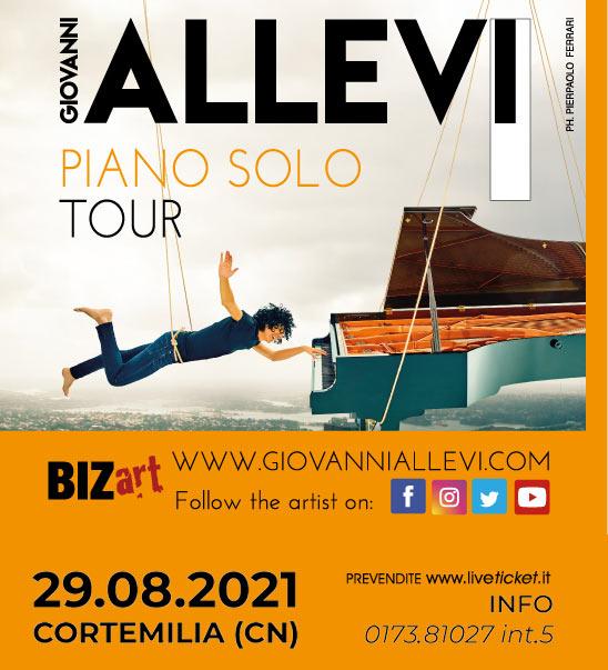 Giovanni Allevi - Piano Solo Tour a Cortemilia