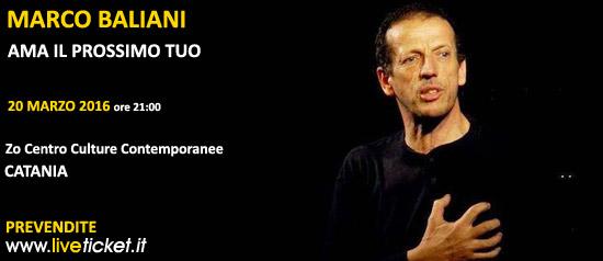 """Marco Baliani """"Ama il prossimo tuo"""" al Zo Centro Culture Contemporanee di Catania"""