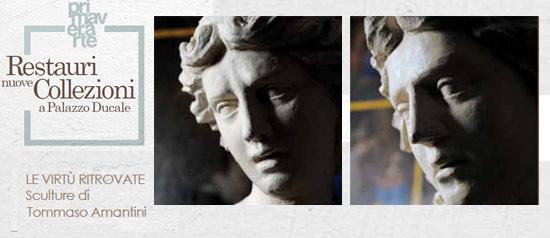 """""""Le virtù ritrovate: sculture di Tommaso Amantini"""" al Palazzo Ducale e Musei di Urbania"""