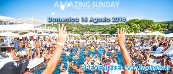 Amazing Sunday Pool Party al Marina Club di Puntone