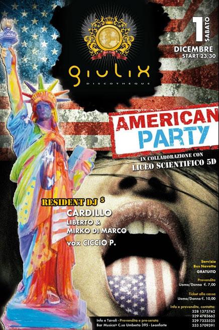 American Party al Giulix Discotheque