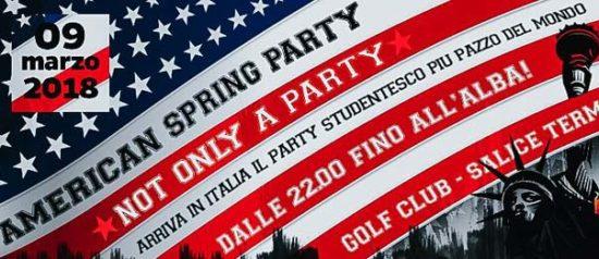American spring party al Golf Club di Salice Terme
