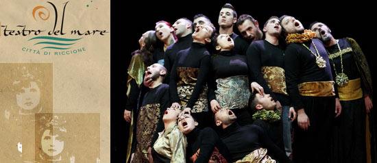 """""""Amleto è passato da qui"""" al Teatro del Mare di Riccione"""