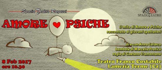 Amore love Psiche al Teatro Franco Costabile a Lamezia Terme