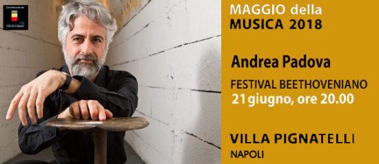 Andrea Padova a Villa Pignatelli a Napoli