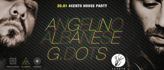 Angelino albanese & G. Dots al Ristorante 4cento di Milano
