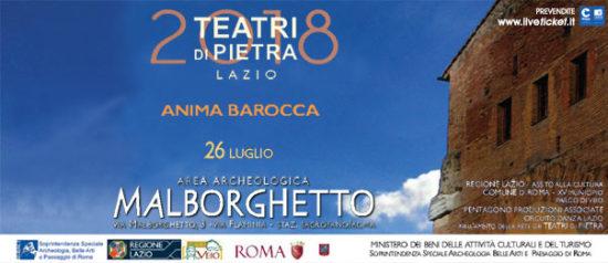 Anima Barocca all'Area Archeologica Malborghetto a Roma