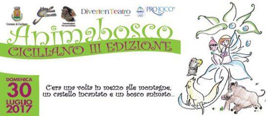 AnimaBosco 2017 - III edizione al Bosco comunale a Ciciliano