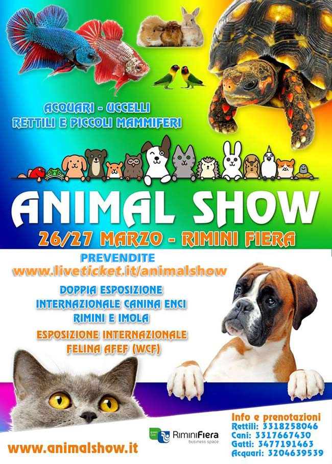 Animal Show Rimini Fiera