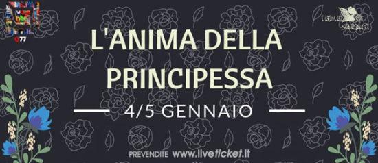 L'Anima della principessa al Q77 di Torino