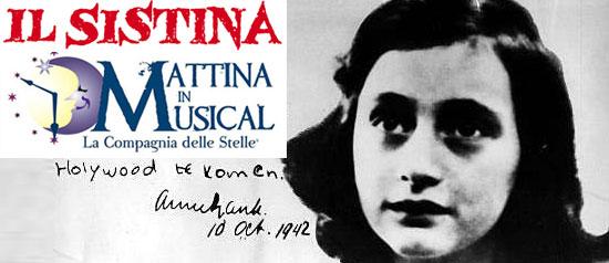 """""""Il Diario di Anna Frank"""" al Sistina"""