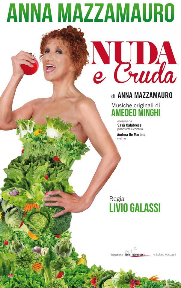 Anna Mazzamauro Nuda e cruda
