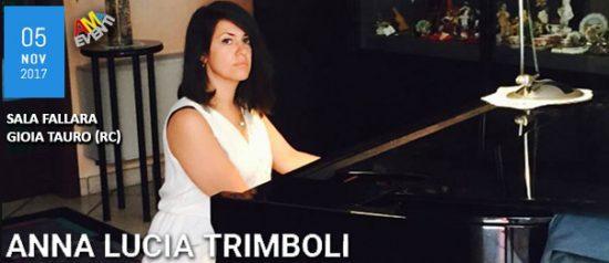 Anna Lucia Trimboli alla Sala Fallara a Gioia Tauro