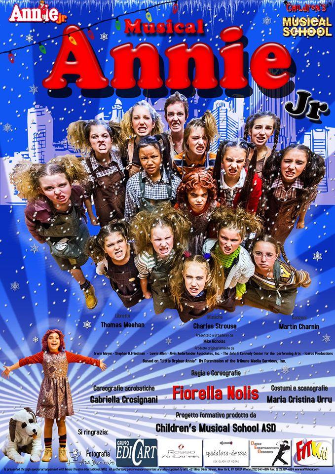 Annie Jr - Teatro Silvestrianum Milano