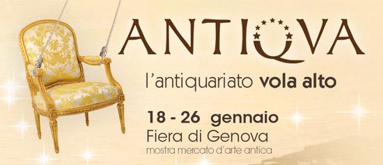 Antiqua 2014 alla Fiera del Mare di Genova