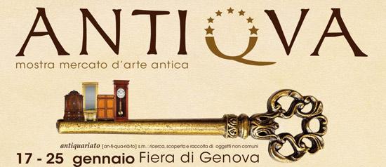 Antiqua 2015 alla Fiera del Mare di Genova