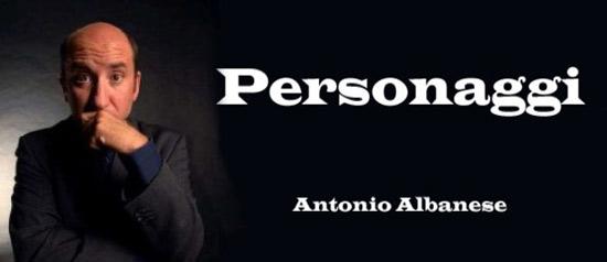 """Antonio Albanese in """"Personaggi"""" al Teatro Comunale Luigi Russolo di Portogruaro"""