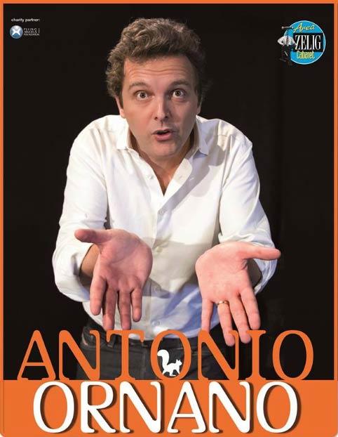 """Antonio Ornano """"Scoiattoli"""" al Teatro CorTe di Coriano"""