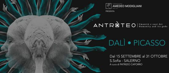 """""""Antròteo"""" Dalì - Picasso al Complesso monumentale di Santa Sofia a Salerno"""