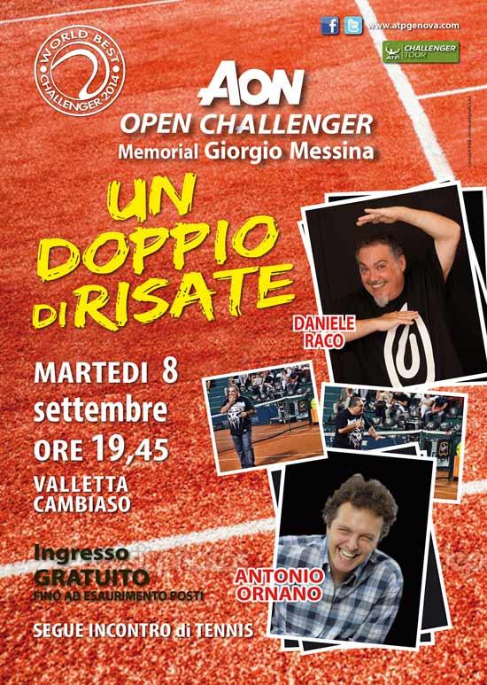 AON Open Challenger 2015 a Genova
