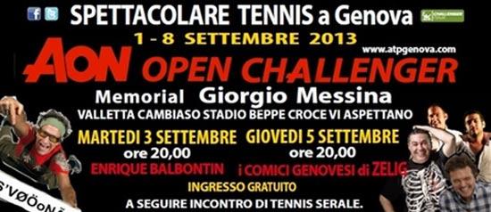 AON Open Challenger a Genova, Zelig