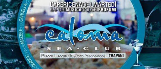 L'apericena del martedì al Calomà Sea Club a Trapani