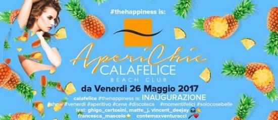 """Aperichic"" inaugurazione al Cala Felice Beach Club"