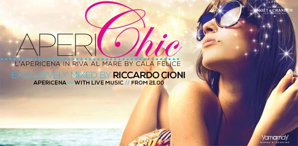 Aperichic 2013 al Cala Felice Beach Club di Scarlino