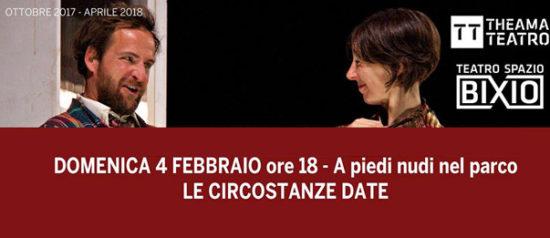 A piedi nudi nel parco al Teatro Spazio Bixio di Vicenza