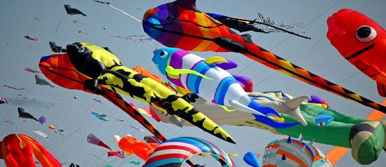6° Festival Internazionale degli Aquiloni alla spiaggia di San Vito lo Capo