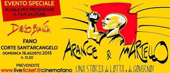 Arance e martello con Diego Bianchi alla Corte Sant'Arcangelo