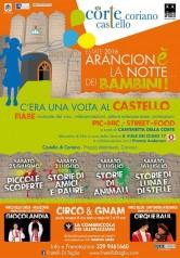 ARANCIONè LA NOTTE... dei bambini alla CorTe del Castello di Coriano