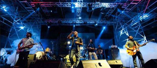 Area 765 in concerto a Ninfeo Live 2013 di Gennazzano