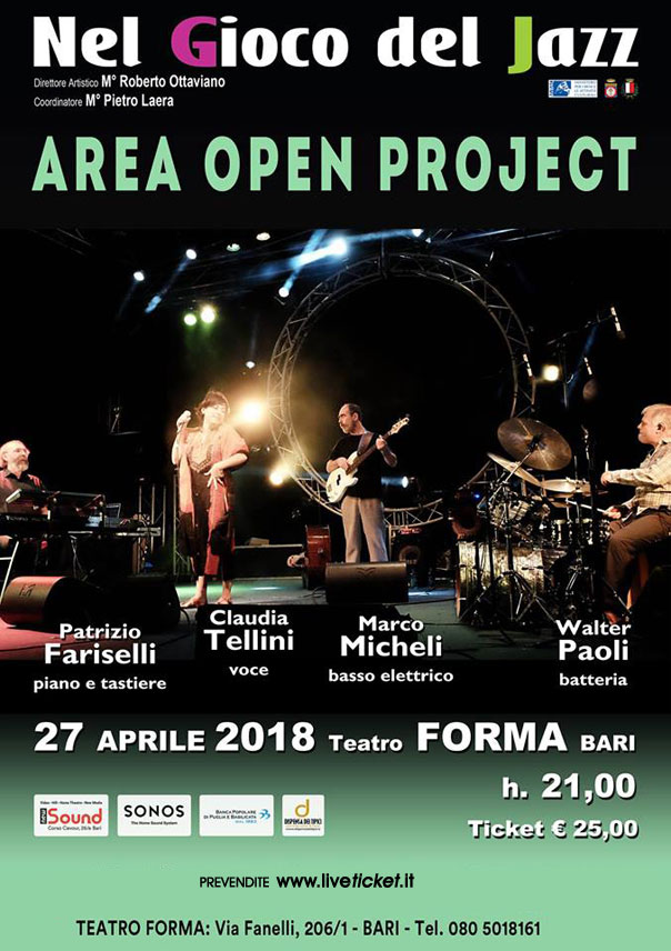 Area Open Project al Teatro Forma di Bari