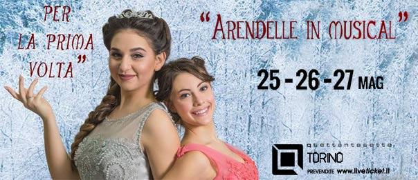 Arendelle in musical al Q77 di Torino