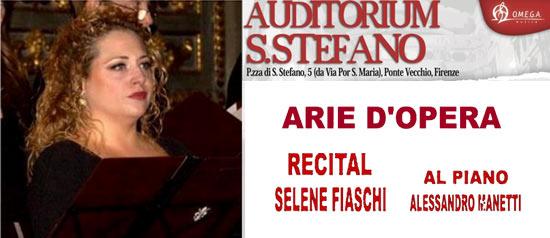 Arie d'Opera Recital, Selene Fiaschi e Alessandro Manetti a Firenze