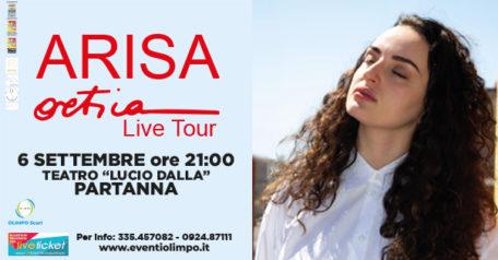 Ortica Live Tour - Arisa a Partanna