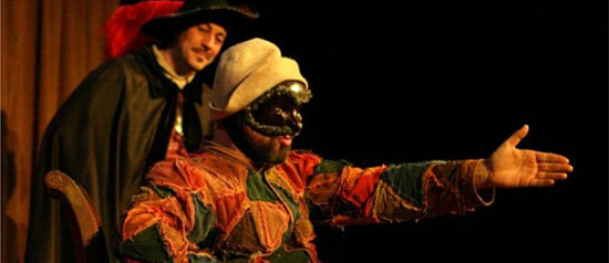 Arlecchino dongiovanni all' Auditorium James Joyce