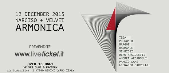 """""""Armonica"""" Festival di Musica Elettronica al Velvet di Rimini"""