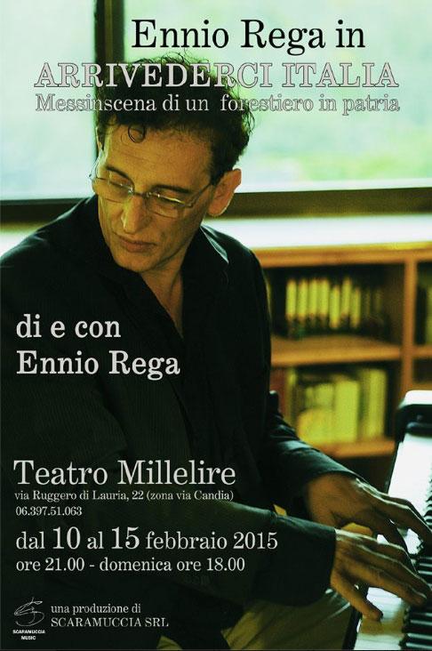 """Ennio Rega """"Arrivederci Italia"""""""