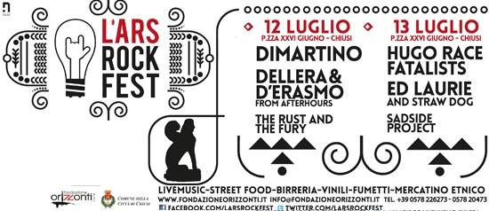 L'Ars Rock Fest di Chiusi Scalo