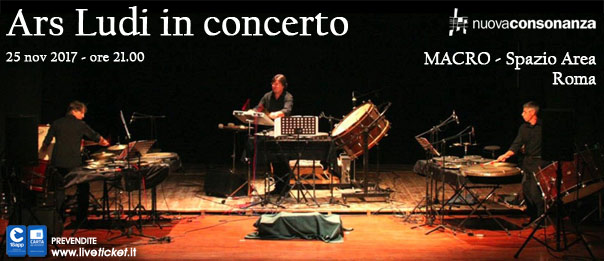 Ars Ludi in concerto al Macro - Spazio Area a Roma