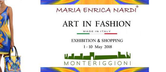 Art in fashion alla Sala Dante Alighieri a Monteriggioni Castello