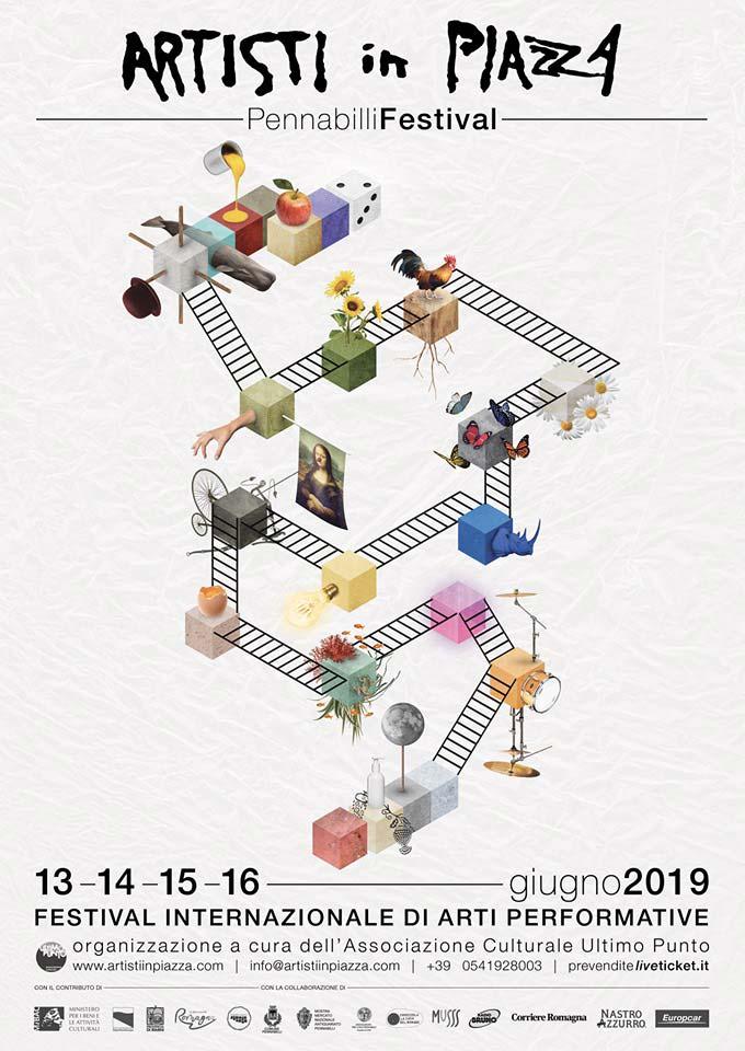 Artisti in Piazza 2019 - Pennabilli Festival - Festival Internazionale di Arti Performative a Pennabilli