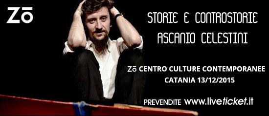 """Ascanio Celestini """"Storie e Controstorie"""" al Zo Centro Culture Contemporanee di Catania"""