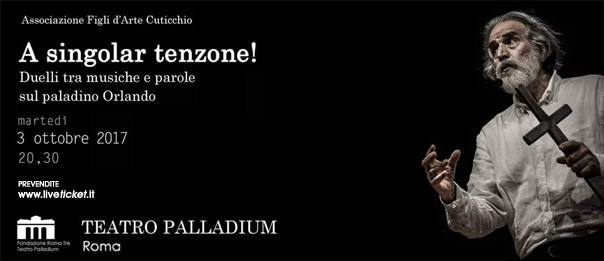 A singolar tenzone! al Teatro Palladium a Roma