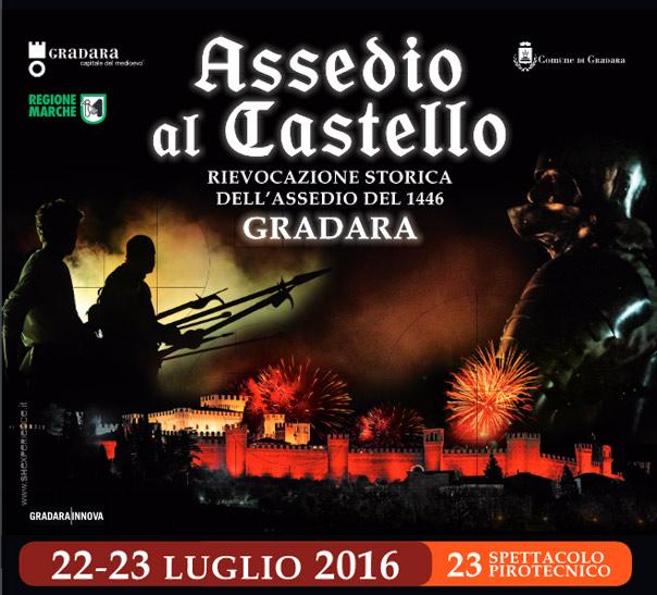 Assedio al Castello di Gradara 2016