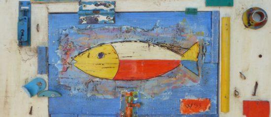 Astrattismo geometrico e brico art, ViVa53 e FKO in mostra alla Sala Mantero a Portovenere